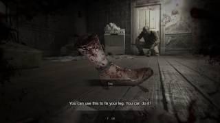 Resident Evil 7 | Hidden Leg Cut Off Scene