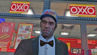 GTA 5 en México: VISITANDO EL OXXO!! (Grand Theft Auto 5) width=