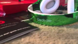 Monster beats by dr Dre studio green colorware Ed
