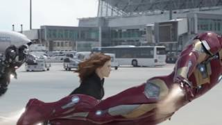 'Hawkeye' Returns Just In The Nick Of Time For #TeamCap In New CAPTAIN AMERICA: CIVIL WAR Clip