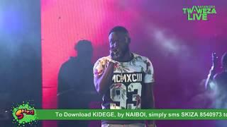 Naiboi - Kidege #TwawezaLive Eldoret