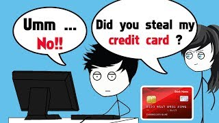 When a Gamer steals Mom's credit card to buy games