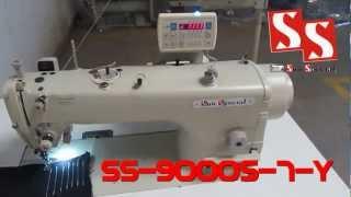 Máquina de Costura Industrial Reta Eletrônica Direct Drive SS-9000S-7-Y