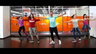 Desde Esa Noche - Thalia ft. Maluma - ZIN 63 - Zumba fitness choreo by Claudiu Gutu