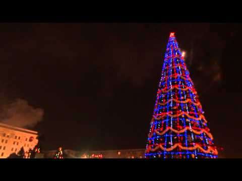 new year celebrations at LUGAnSK CIty Center