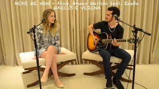 Hear Me Now - Alok (Marcus e Verena - Loop Pedal Cover)