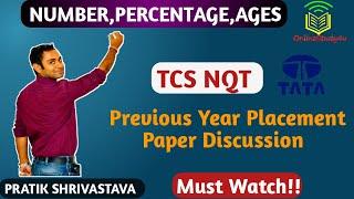 TCS NQT 2020 Aptitude Questions and Answers 2020 (TCS NQT 2020)