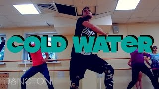 COLD WATER - Major Lazer Ft. Justin Bieber (Dance Video) | choreography by Andrew Heart #ColdWater