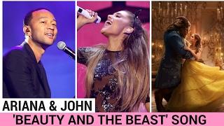 Ariana Grande & John Legend's 'Beauty & the Beast' Theme Song (FIRST LISTEN)