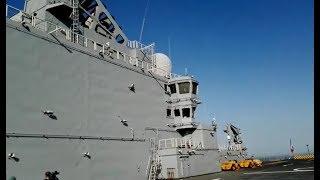 Le porte-hélicoptère amphibie MISTRAL fait escale à Agadir