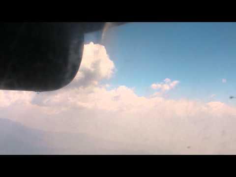 SANY0814.MP4 Kathmandu-Lukla Tara Air