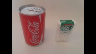 Coke and Tic Tac Experiment