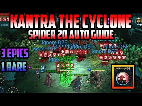 Kantra Fusion Spider 20 Auto Guide I Raid Shadow Legends