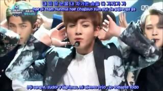 [Live] Bangtan Boys ღ BTS - Blood Sweat & Tears (Sub Español) HD