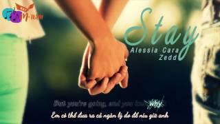 [Vietsub+Lyrics] Zedd ft. Alessia Cara - Stay (Cover)
