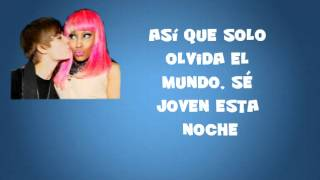 Justin Bieber ft Nicky Minaj - Beauty and a Beat ( Traducida al español )