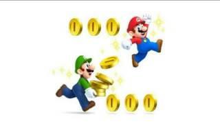 Toque para celular mensagem Super Mario moeda