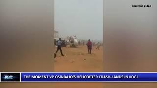 VP Osinbajo's Helicopter Crash Lands in Kogi