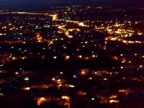Tlemcen vue de nuit -lalla seti