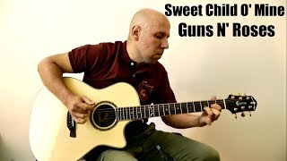 Sweet Child O' Mine - Guns N' Roses Fingerstyle Guitar