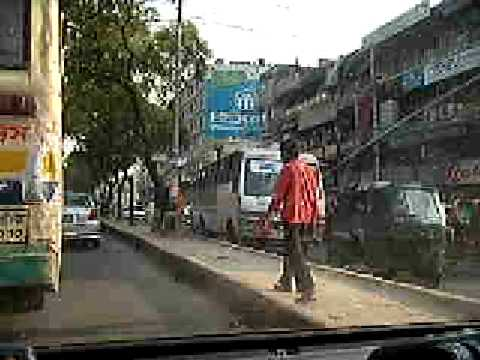 Dhaka City Streets