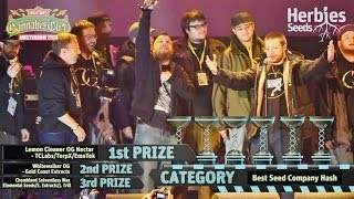 Amsterdam Cannabis Cup Winners 2013 - Awards Ceremony -