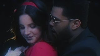 The Weeknd Getting TOO CLOSE To Lana Del Rey In Newest Music Video!?
