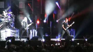 Nickelback Burn it to the ground Live @ Darien Lake 7-10-09