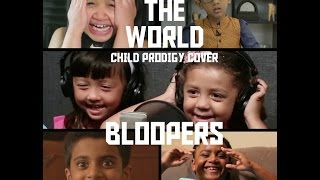 Bloopers I  Heal The World - Child Prodigy Cover | Maati Baani