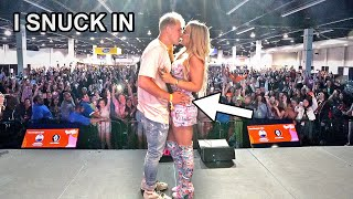 I Snuck Into VidCon Then Surprised Tana With THIS...