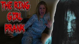 THE RING GIRL PRANK ON MY GIRLFRIEND! - SCARE PRANK (PRANKS)