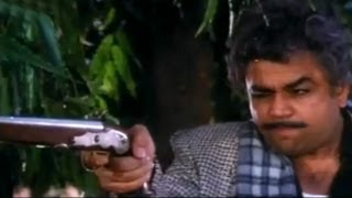 Paresh Rawal With Vasco-De-Gama's Gun - Andaz Apna Apna Comedy Scene