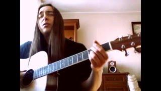 Alter Bridge - Blackbird - Acoustic + vocal cover - ultra clean!