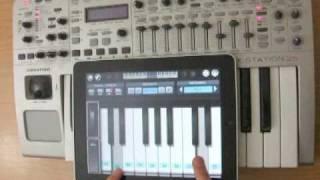 Wireless MIDI via OSC using Pianist Pro