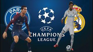 Real Madrid vs PSG - NEYMAR REAL MADRID / CRISTIANO RONALDO PSG - PES 2018 width=