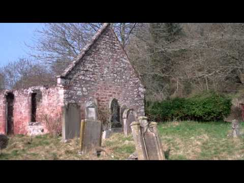 Lethendy Kirk And Graveyard Perthshire Scotland March 25th