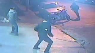 Troca de tiros entre Políciais e ladrões em São Paulo