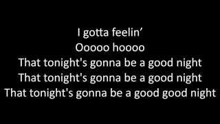 Timeflies - I Gotta Feeling Lyrics
