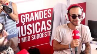 Diogo Piçarra estreia-se no palco Meo do Meo Sudoeste