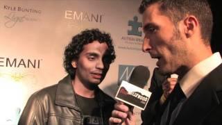 Ruwanga Samath at the (HMMA's)The 2011 Hollywood Music In Media Awards
