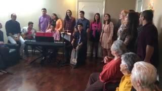 [Visita] Entre Vozes  - Eu Sou Feliz DVD Adoradores (Casa de Repouso Sagrada Família)