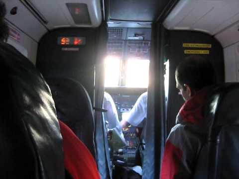Take off from Lukla (Nepal)