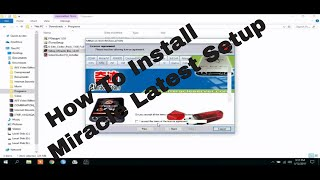 How To Install Miracle Latest Setup V2.63 step by step with download link