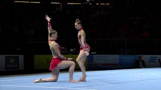 2018 Acrobatic Worlds – Netherlands, Women's Pair Qualifications