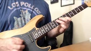 Styx - Renegade Guitar Solo Cover using Kemper Profiler