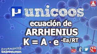 Imagen en miniatura para Ecuación de Arrhenius