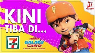 BoBoiBoy Galaxy Card kini di 7-Eleven!