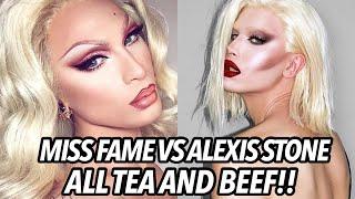 Miss Fame VS  Alexis Stone DRAMA!