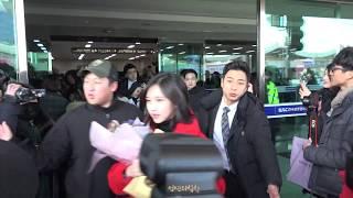 180203 김포공항 입국 트와이스