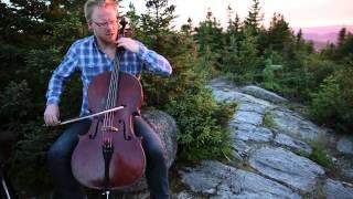 Diederik van Dijk - Suite for solo cello No. 1 in G major - Sarabande (J.S. Bach) - GMSM